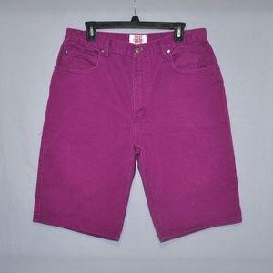 Vintage 90s I.O.U. Men's Denim Shorts Size 34
